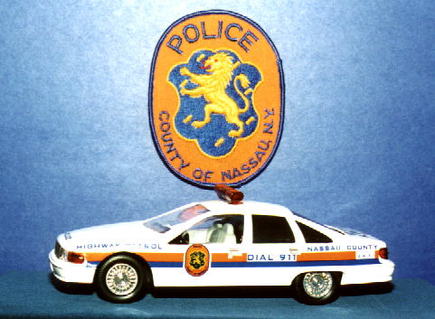 CUSTOM NASSAU COUNTY POLICE CAPRICE CLASSIC I CAN MAKE EITHER HIGHWAY